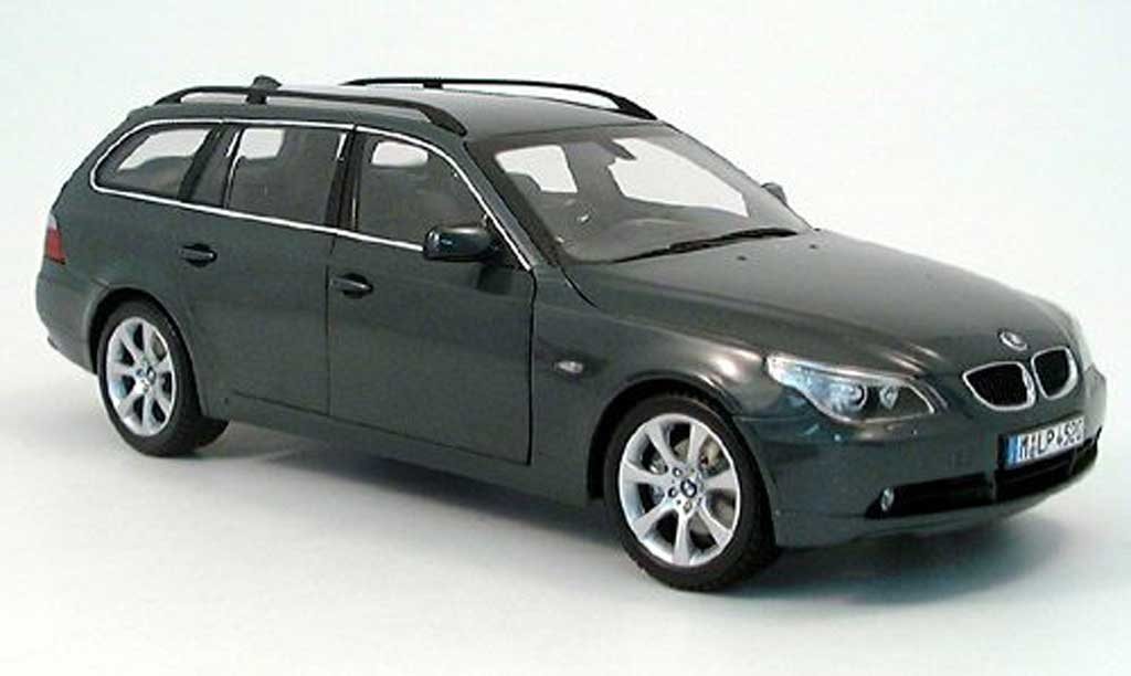 Bmw 523 E61 1/18 Kyosho i touring anthrazit 2004 diecast model cars