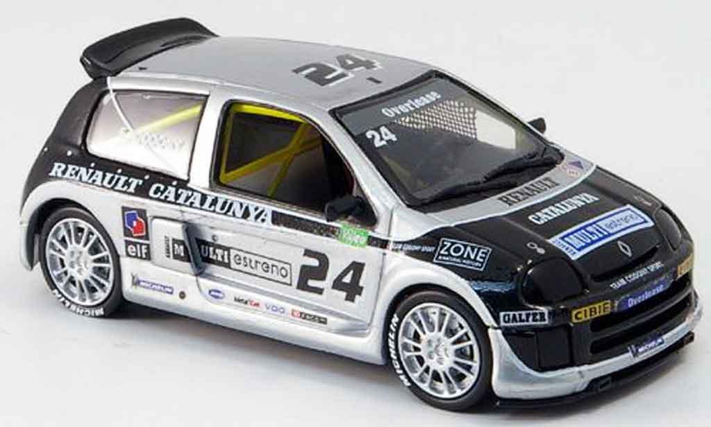 Renault Clio V6 1/43 Eagle sport no. 24 codony clio trophy 2000 miniature