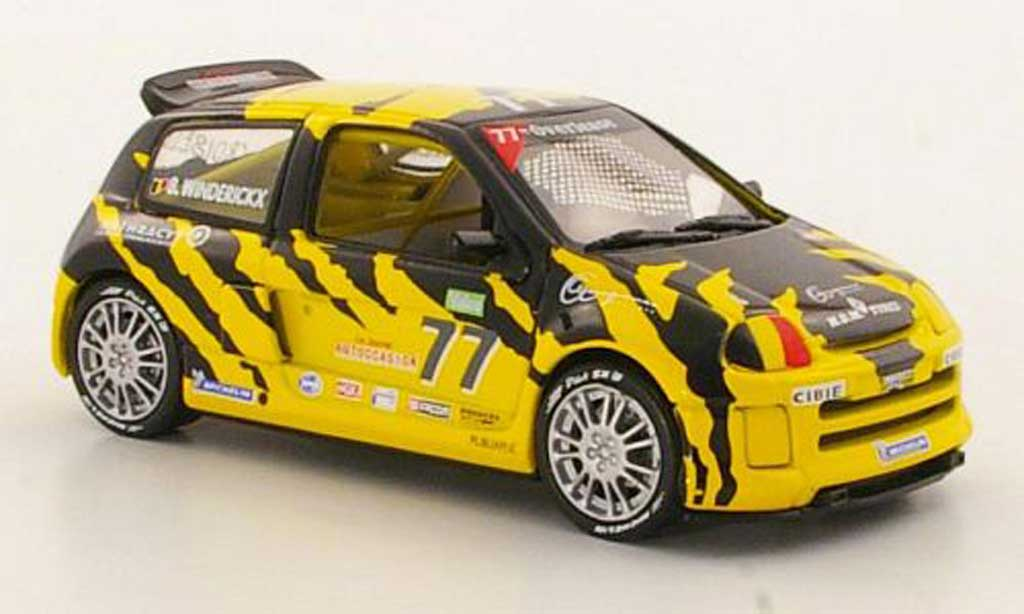 Renault Clio V6 1/43 Eagle II No.77 B.Winderickx Trophy 2000 miniature