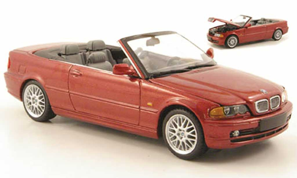 bmw serie 3 convertible red 2000 minichamps diecast model car 1 43 buy sell diecast car on. Black Bedroom Furniture Sets. Home Design Ideas