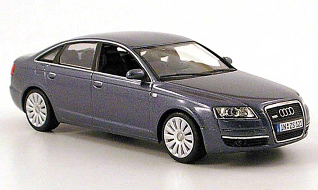 Audi A6 1/43 Minichamps (C6) grise 2004 miniature