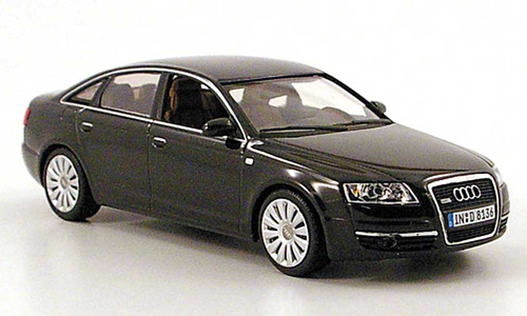 audi a6 c6 schwarz 2004 minichamps modellauto 1 43 kaufen verkauf modellauto online. Black Bedroom Furniture Sets. Home Design Ideas