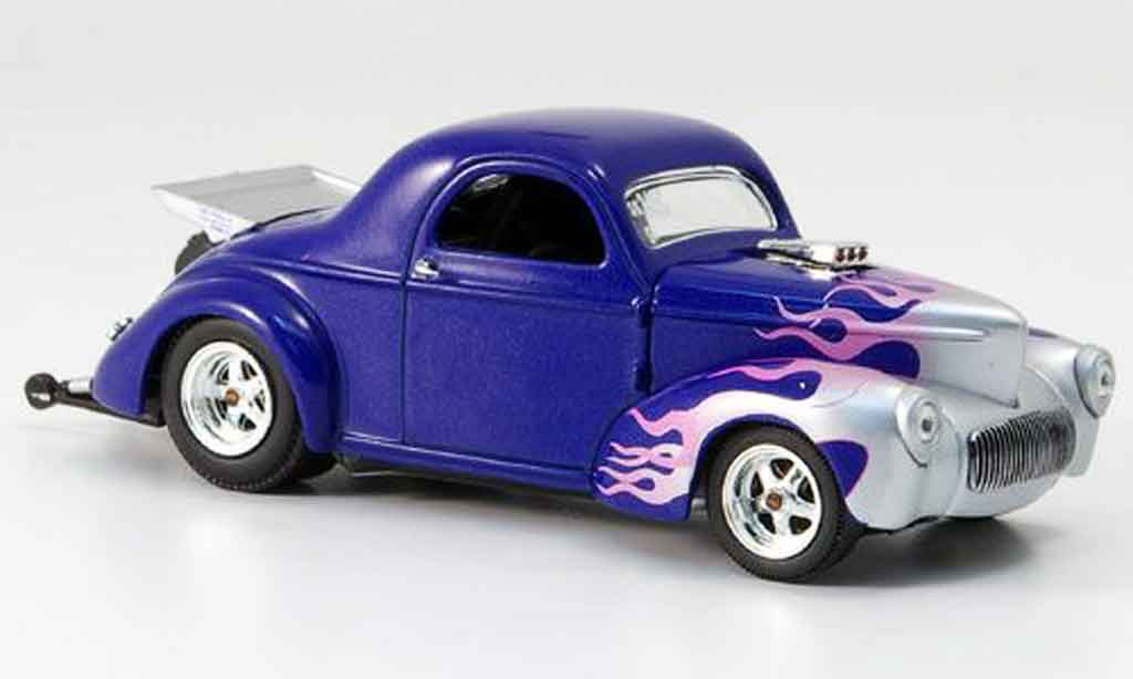 Willys Coupe 1941 1/43 Eagle 1941 Drag Racer Gary Wright miniature