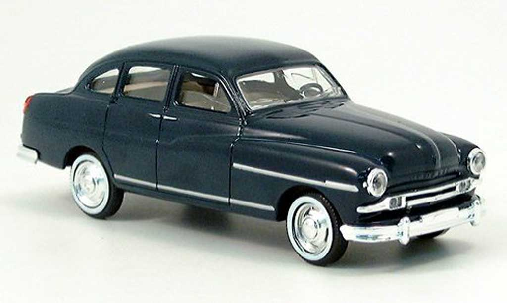Ford Vedette 1/43 Solido Berline bleu 1953 miniature