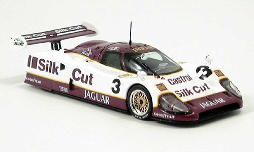 Jaguar XJ R12 1/43 IXO Brundle-Nielsen-Cobb LeMans Sieger 1990 miniature