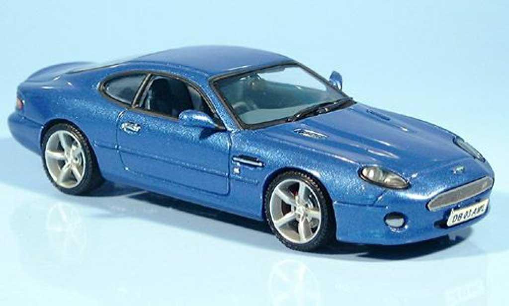 aston martin db7 gt miniature bleu 1992 vitesse 1 43 voiture. Black Bedroom Furniture Sets. Home Design Ideas