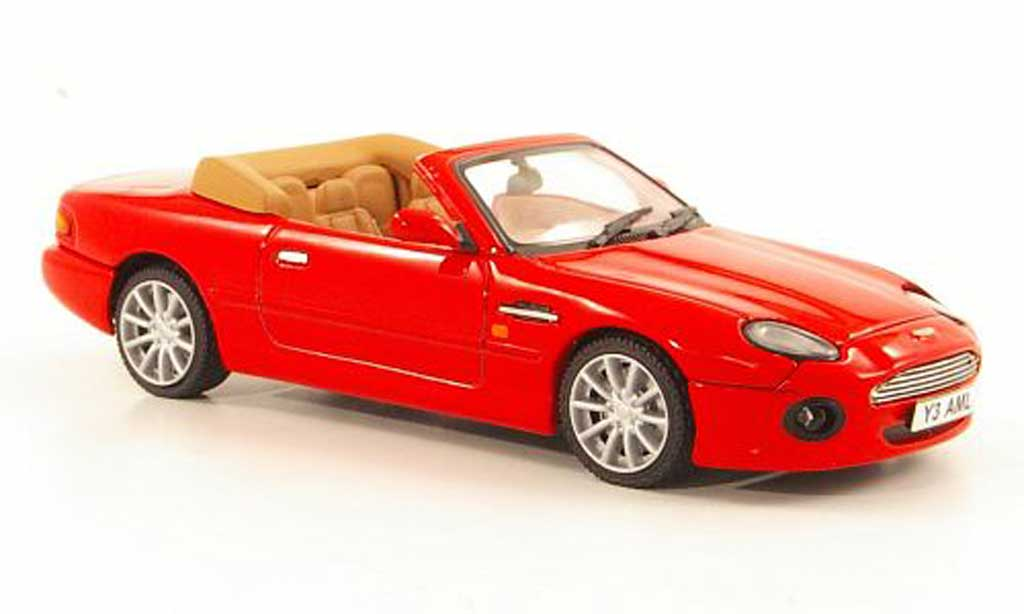 Diecast Model Cars Aston Martin Db7 Vantage 1 43 Vitesse Red 1994 Alldiecast Co Uk