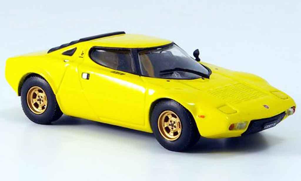 Lancia Stratos HF 1/43 Vitesse jaune 1974 miniature