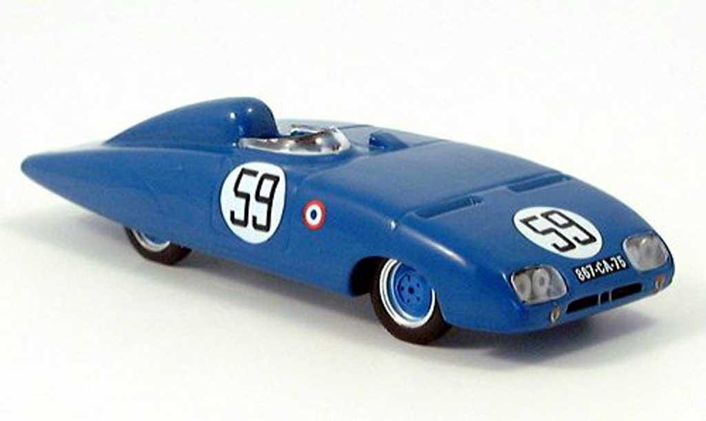 Panhard X88 1/43 Bizarre No.59 Cotton/Beaulieux 24 Le Mans 1954 miniature