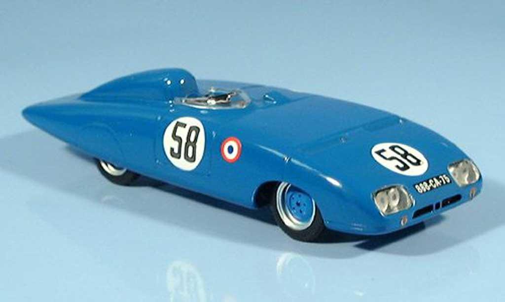 Panhard X88 1/43 Bizarre LM No.58 24h Le Mans 1954 miniature