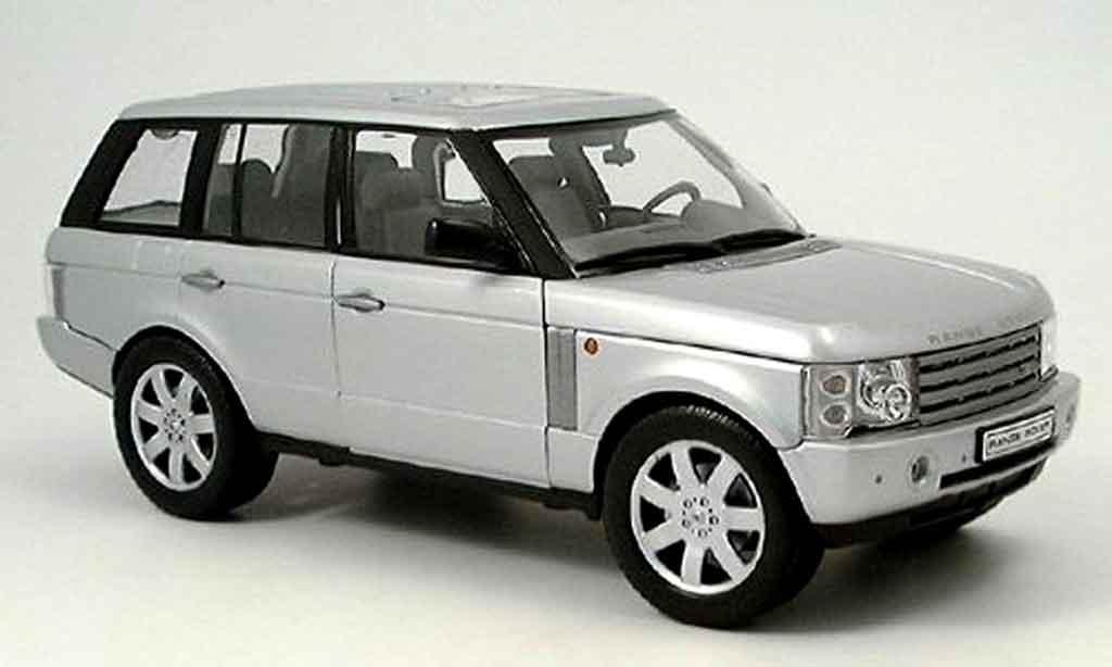 range rover sport gray 2003 welly diecast model car 1 18. Black Bedroom Furniture Sets. Home Design Ideas