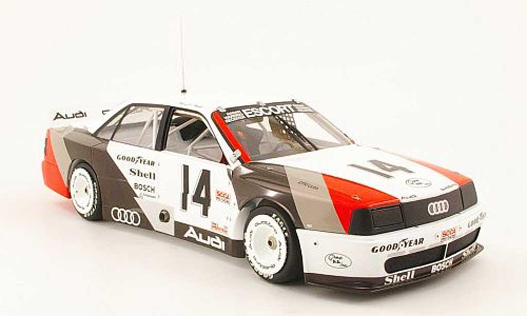 Audi 200 quattro 1/18 Minichamps no.14 h.-j.stuck trans-am cleveland 1988 miniature