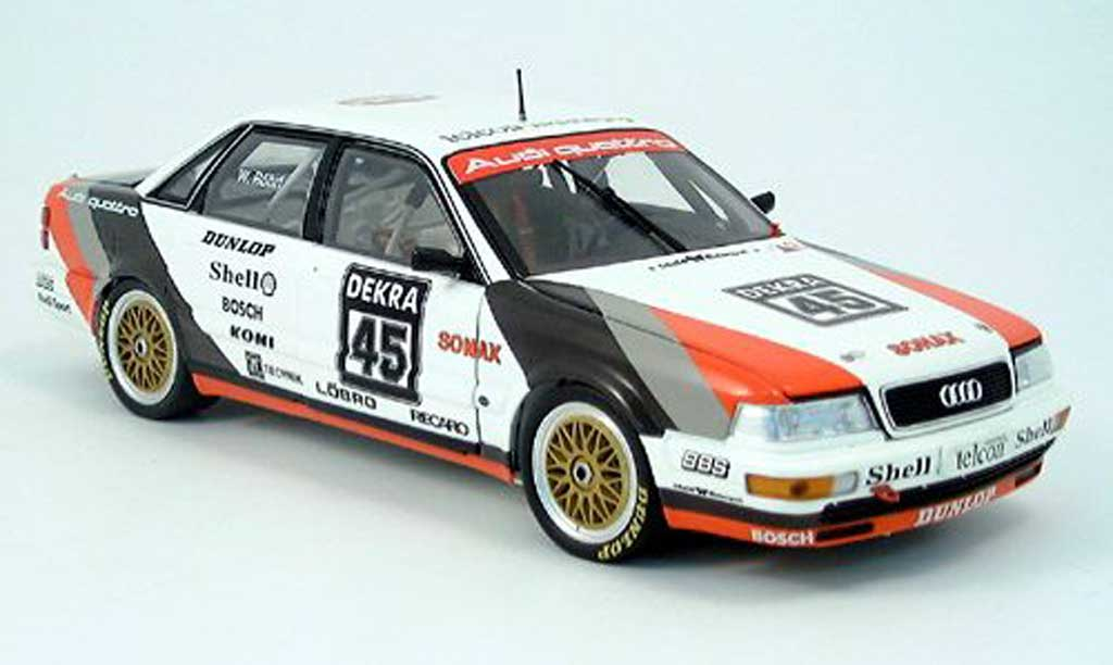 audi v8 quattro dtm roehrl 1990 minichamps modellauto 1 18. Black Bedroom Furniture Sets. Home Design Ideas