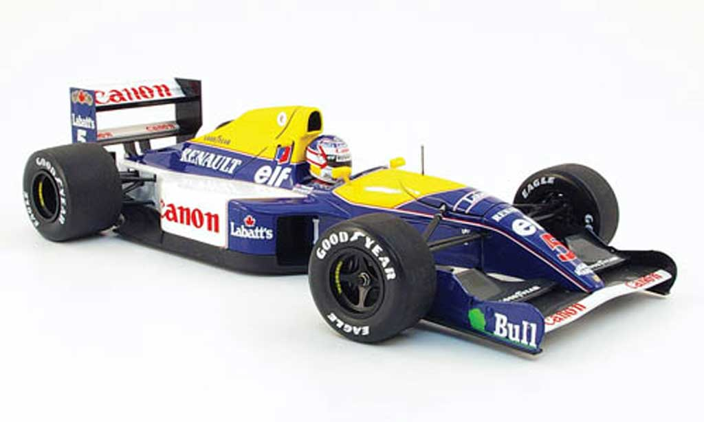 Renault F1 1/18 Minichamps williams fw 14 mansell 1991 miniature