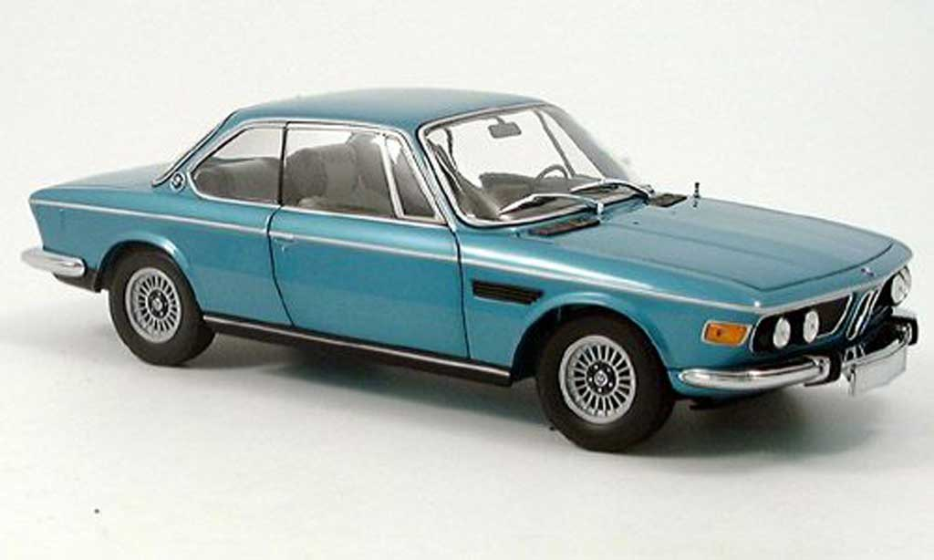 Bmw 3.0 CSi 1/18 Minichamps e9 coupe verte 1972 miniature