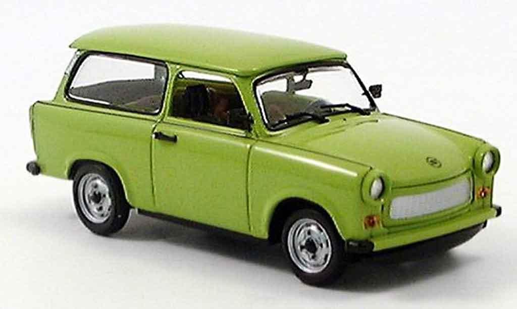Trabant 601 1/43 Minichamps Universal grun 1985 miniature