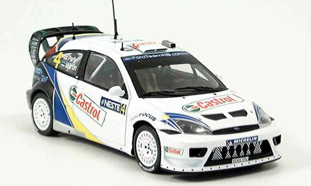 Ford Focus RS WRC 1/43 Minichamps Finland Maertin Park Sieger 2003