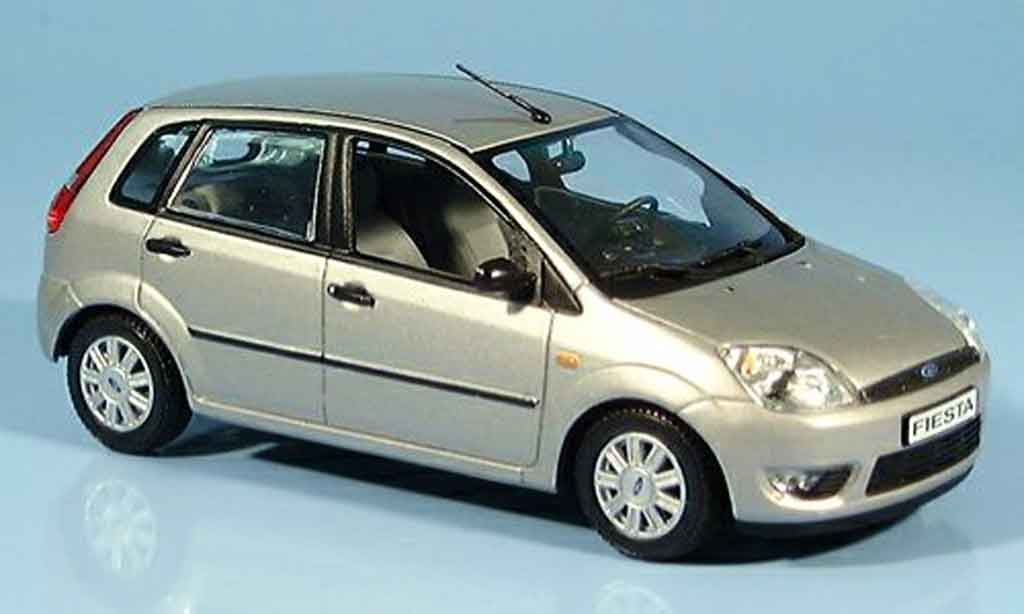 ford fiesta beige 2002 minichamps diecast model car 1 43. Black Bedroom Furniture Sets. Home Design Ideas