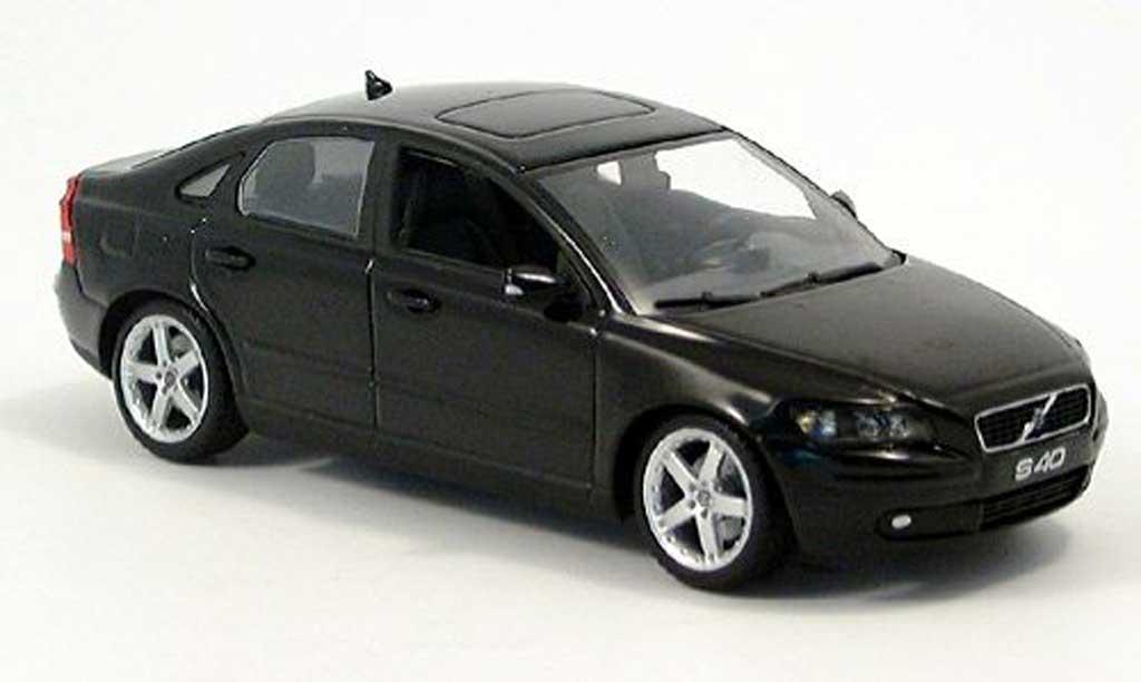 Volvo S40 1/43 Minichamps noire  2003 miniature