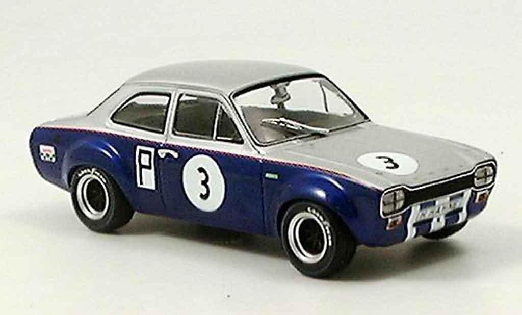 Ford Escort MK1 1/43 Minichamps I TC Nurburgring Hahne 1968 miniature