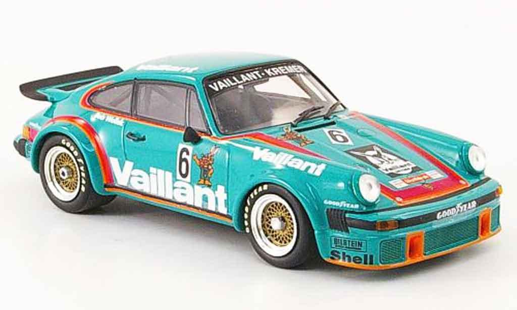 Porsche 934 1976 1/43 Minichamps Kremer Wollek Sieger miniature