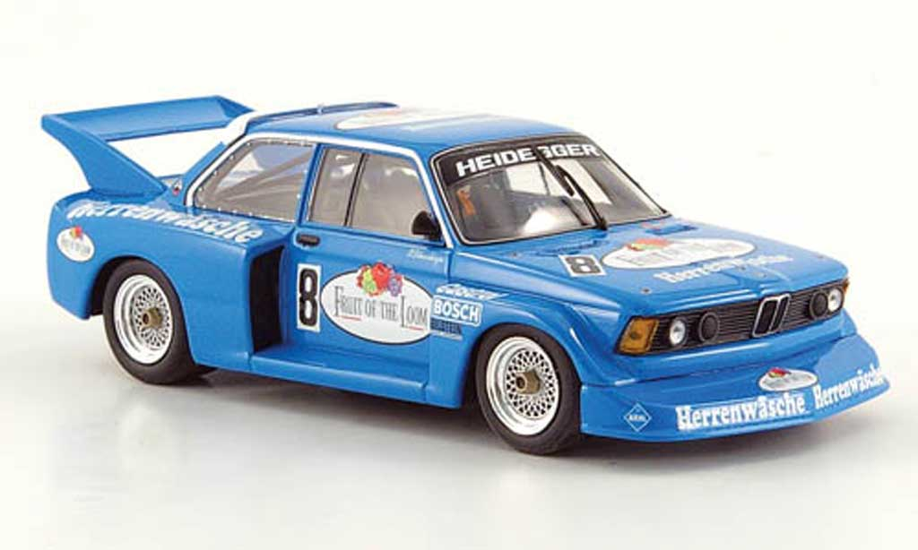 Bmw 320 E21 1/43 Minichamps i Gr.5 No.8 Fruit of the Loom P.Schneeberger DRM 1977 diecast model cars
