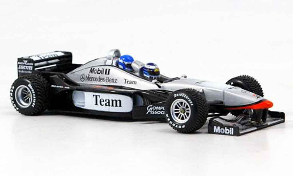 Mercedes F1 1/43 Minichamps McLaren MP4 98T Doppelsitzer Lapland 17. April 2000 miniature