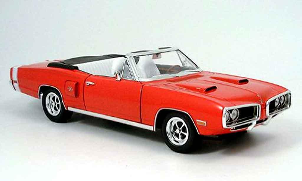 Dodge Coronet 1970 1/18 Yat Ming r t red diecast
