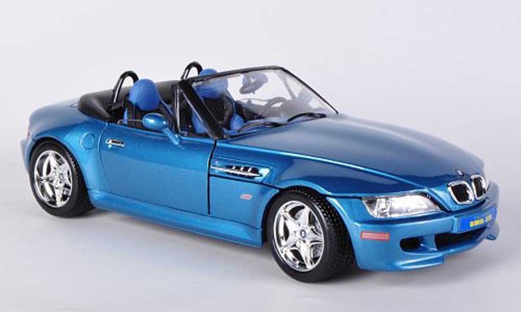Bmw Z3 M Roadster Blue 1996 Burago Diecast Model Car 1 18 Buy Sell Diecast Car On Alldiecast Us