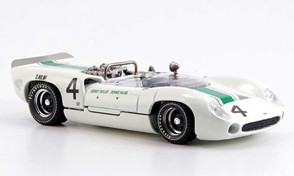 Lola T70 1965 1/43 Best Spyder Oulton Park No.4 D. Hulme miniature