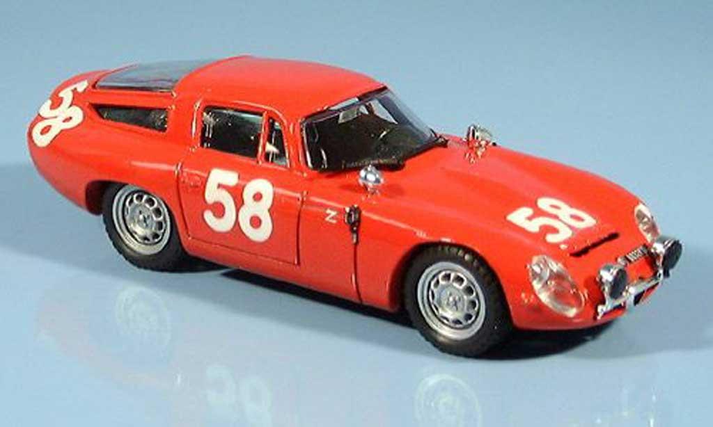 alfa romeo tz1 1964 no 58 1965 best modellauto 1 43 kaufen verkauf modellauto online. Black Bedroom Furniture Sets. Home Design Ideas