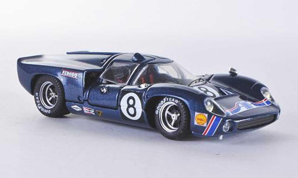Lola T70 1969 1/43 Best Coupe Leslie-Motschenbach miniature