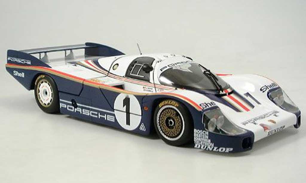 Porsche 956 1982 1/18 Minichamps l no.1 ickx/bell 24h le mans diecast model cars