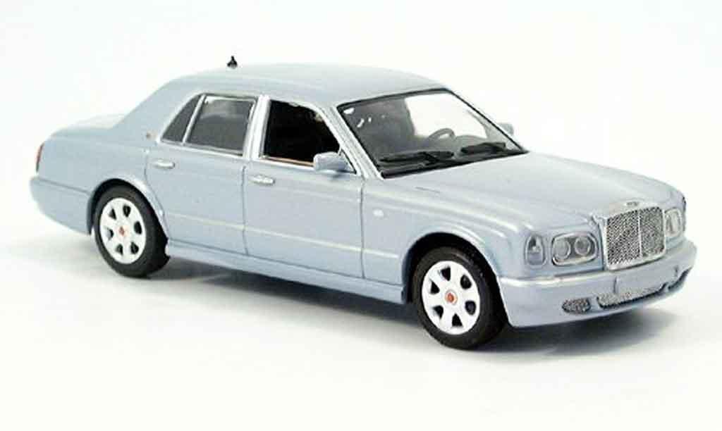 Bentley Arnage 1/43 Minichamps bleu 2001 miniature