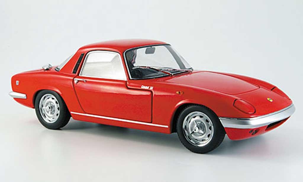 Lotus Elan 1/18 Autoart coupe s/e s3 rot modellautos