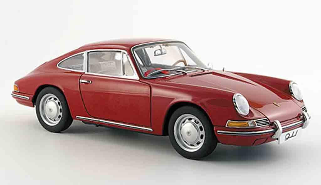 porsche 911 rot 1964 autoart modellauto 1 18 kaufen verkauf modellauto online. Black Bedroom Furniture Sets. Home Design Ideas