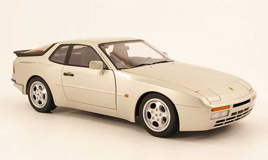 Porsche 944 1985 1/18 Autoart turbo grey metallisee diecast model cars