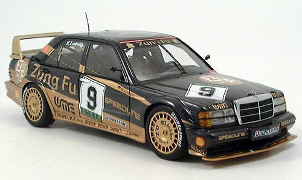 Mercedes 190 E 1/18 Autoart 2.3-16v evo 2 macau 3ter ludwig 1991 miniature