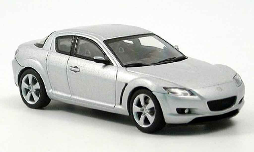 mazda rx8 rx 8 grau metallisee autoart modellauto 1 43 kaufen verkauf modellauto online. Black Bedroom Furniture Sets. Home Design Ideas