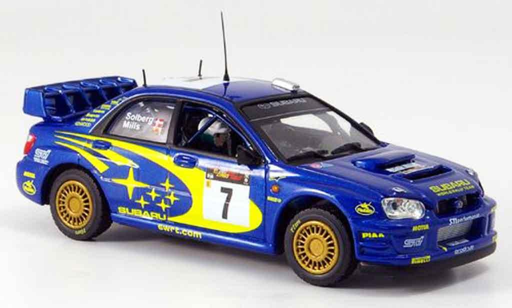 Subaru Impreza 1/43 Vitesse sieger zypern p. stolberg no. 7 2003 miniature