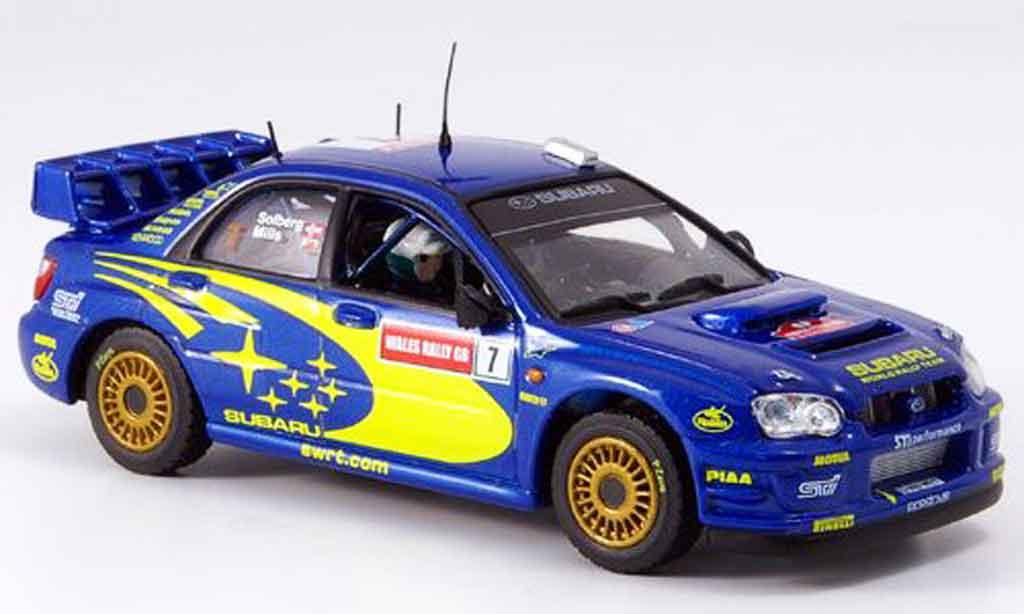 Subaru Impreza 1/43 Vitesse sieger gb p. stolberg no. 7 2003 miniature