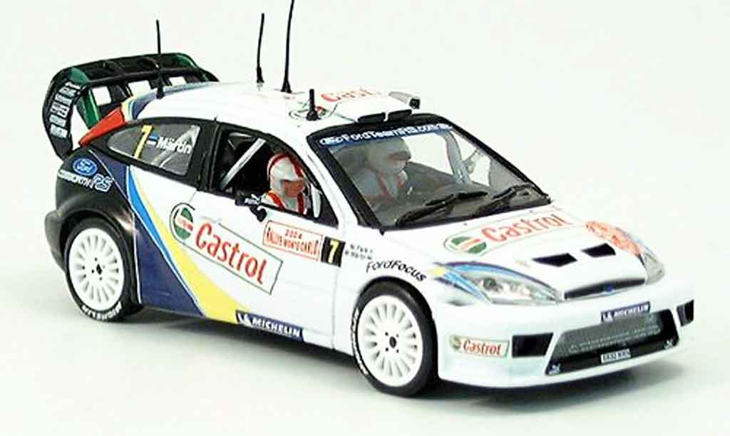 Ford Focus RS WRC 1/43 Vitesse Monte Carlo M. Martin No. 4 2004 miniature