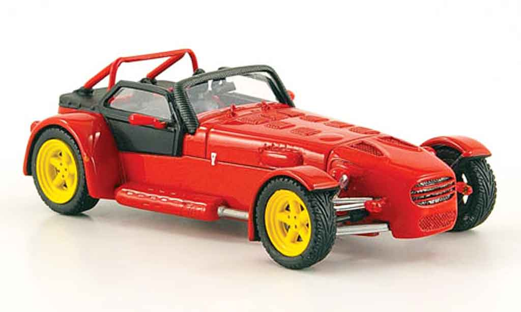 Donkervoort D8 1/43 Spark red 2003 diecast model cars