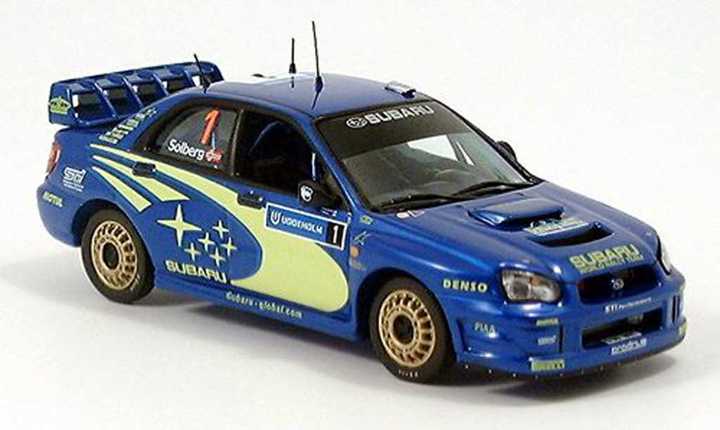 subaru impreza wrc schweden 2004 ixo modellauto 1 43 kaufen verkauf modellauto online. Black Bedroom Furniture Sets. Home Design Ideas