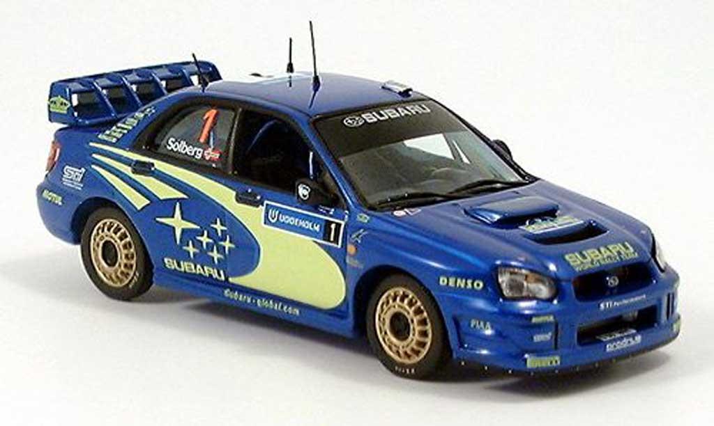 Subaru Impreza WRC 1/43 IXO Schweden 2004 miniature