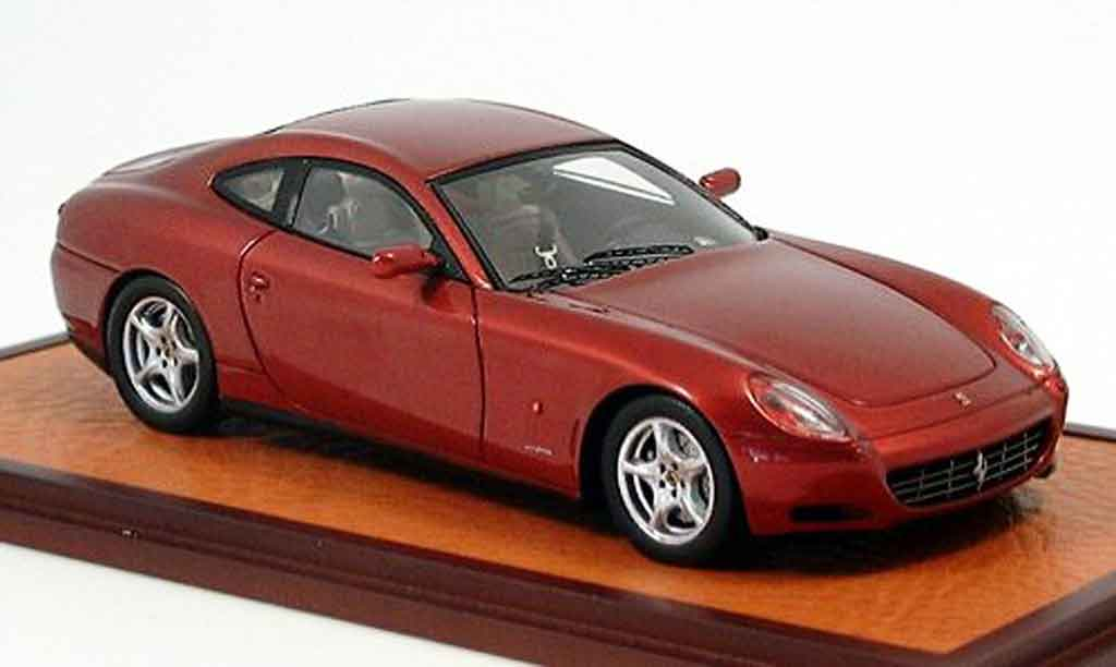 Ferrari 612 1/43 Red Line scaglietti red 2003 diecast model cars