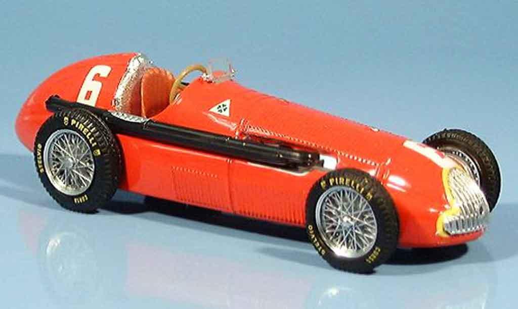 Alfa Romeo 158 1/43 Brumm no.6 j.m.fangio sieger gp frankreich 1950 miniature