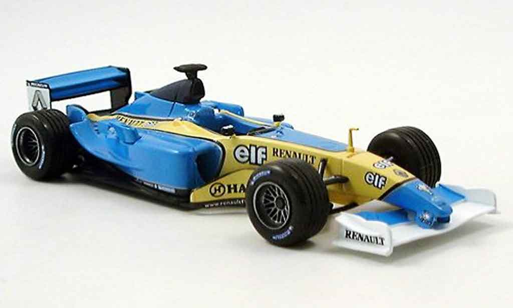 Renault F1 1/43 Solido f1 trulli alonso (aufkleber fur beide versionen) 2003 miniature