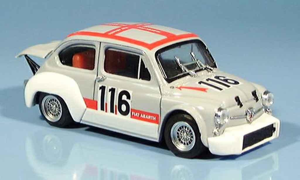 Fiat Abarth 1000 1/43 Brumm Gr. 2 70 No.116 Svolte di Popoli 1970 miniature