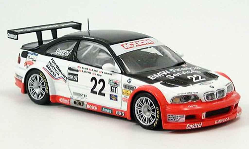 Bmw M3 E46 1/43 Minichamps GTR Daytona Said Auberlen Marks Hand Jonsson 2004